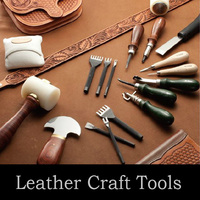 Easy to use and Long-selling leather craft tools with wide variations