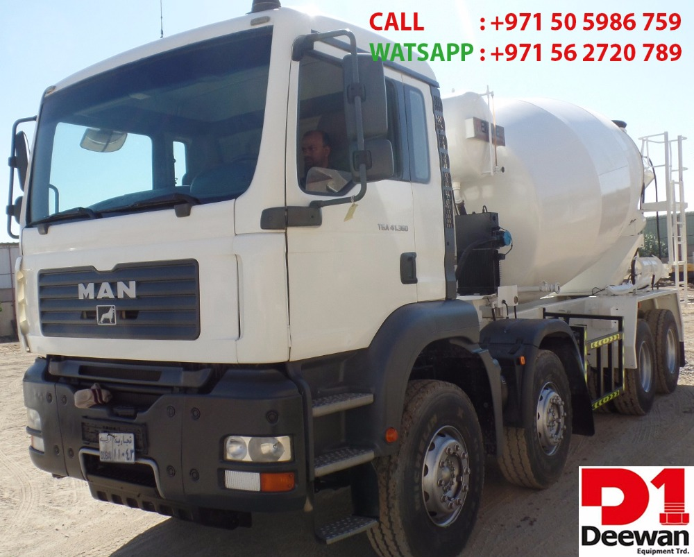 USED TRANSIT MIXER 10 cbm FOR SALE IN UAE