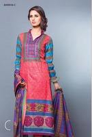 Three piece lawn salwar kameez suit Barkha lawn design no. 800/lawn & cotton suits