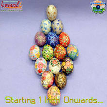 2019 model colourful Easter eggs wholesale egg decoration