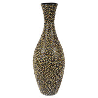 High quality best selling eco friendly Round modern natural sea shell wall vase from Vietnam