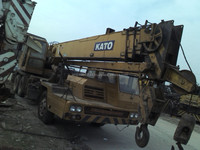 used Kato NK250E,25ton truck crane for sale in Shanghai, made in Japan in good condition