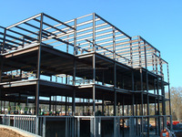 pre fabricated pre engineered steel quarters buildings