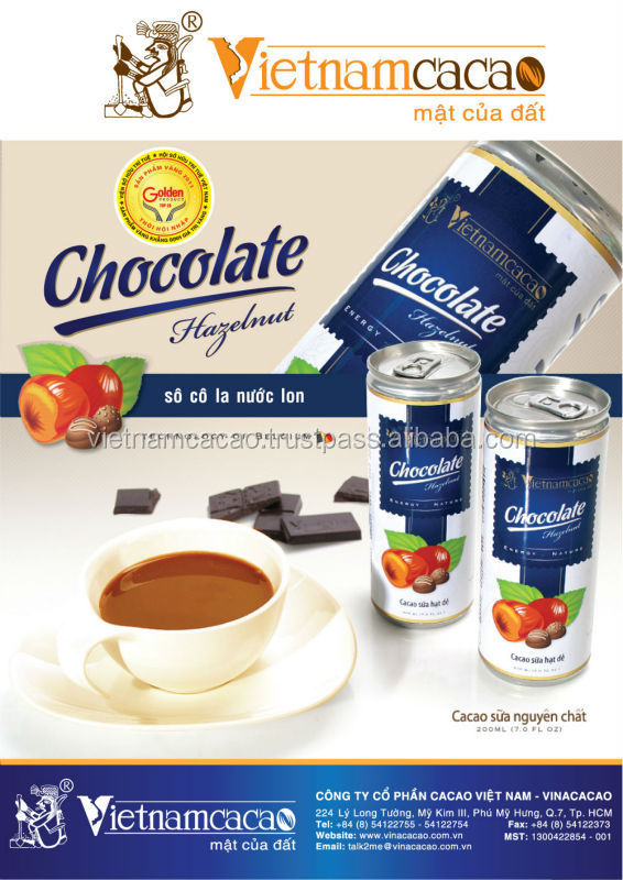 The best choice for FMCG - Canned Chocolate Milk