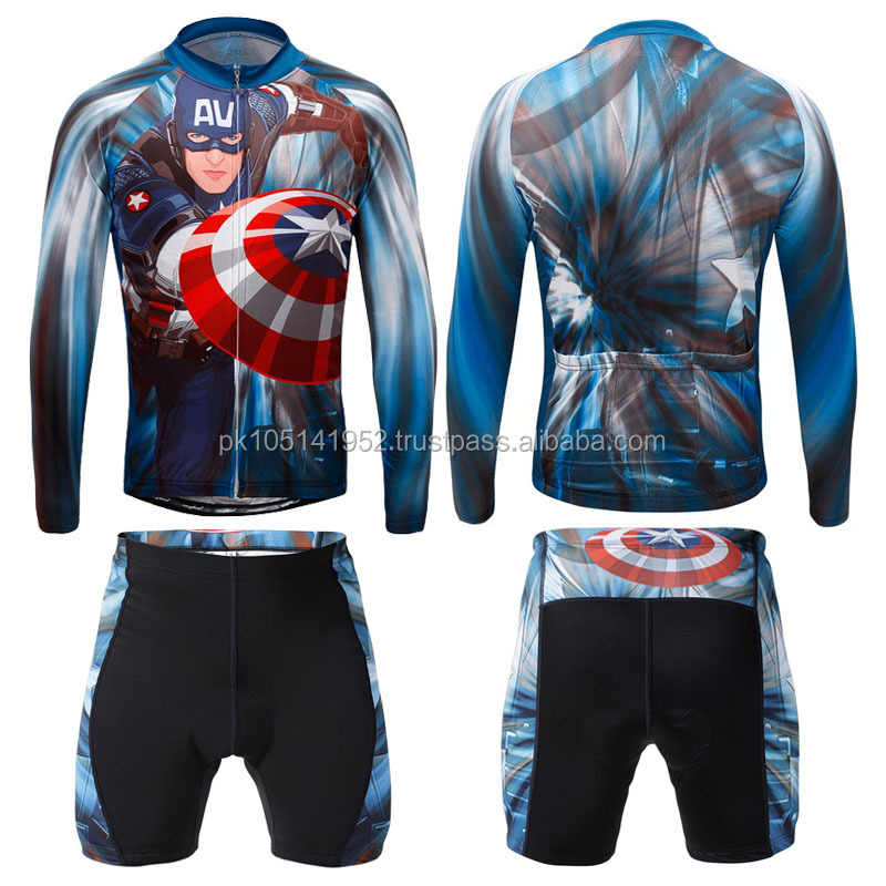 Custom design cycling suits 2015/hote style women's bike wear suits comfortable fabric cycling cloths sets