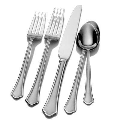 Inter Slvr Capri Flatware 53pc