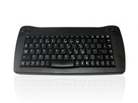 Accuratus 573 - Wireless Infra Red Mini Keyboard with Trackball
