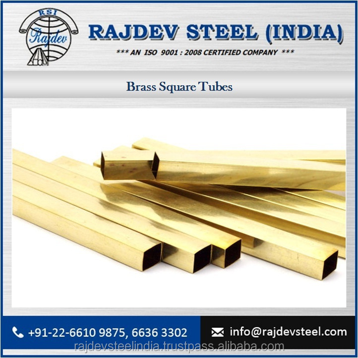 High Quality Brass Square Tube From Best Manufacturer