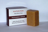 SHEA BUTTER PATCHOULI - 100% NATURAL AND HANDMADE