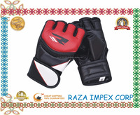 Custom designs sublimation and embroidery Patch MMA full padded Gloves leather Martial Arts gloves