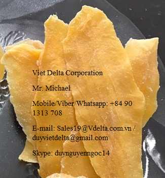 Dried Mango Fruit High quality from Vietnam