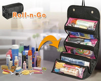 Roll-n-Go Jewellery & Cosmetics Organiser & Storage Travel Bag