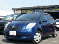 Good looking and japanese with for right handed VITZ 2005 used car at reasonable prices