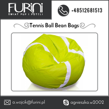 Most Recommended Unique lime color Tennis Ball Beanbag