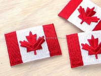 canadian Flag embroidered patch