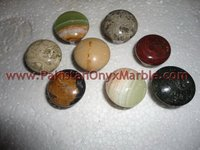 POLISHED MARBLE STONE/ MARBLE KNOBS