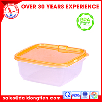 Durable quality drinking plastic water Square Container L506-2 (medium)