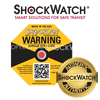 ShockDot Packaging Impact Label Shock Indicator Damage Detector Drop - Different Sensitivities Available