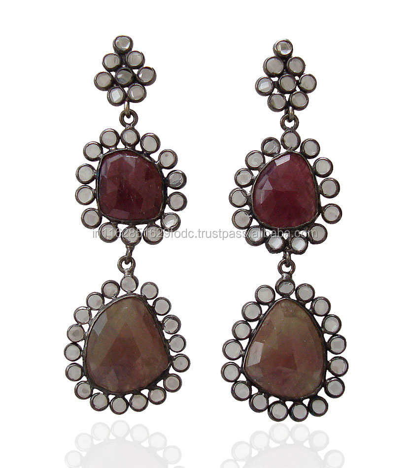 New Fashion 2017 Royal Fashion Big Women Earring Handmade Jewelry Wholesale ER1132