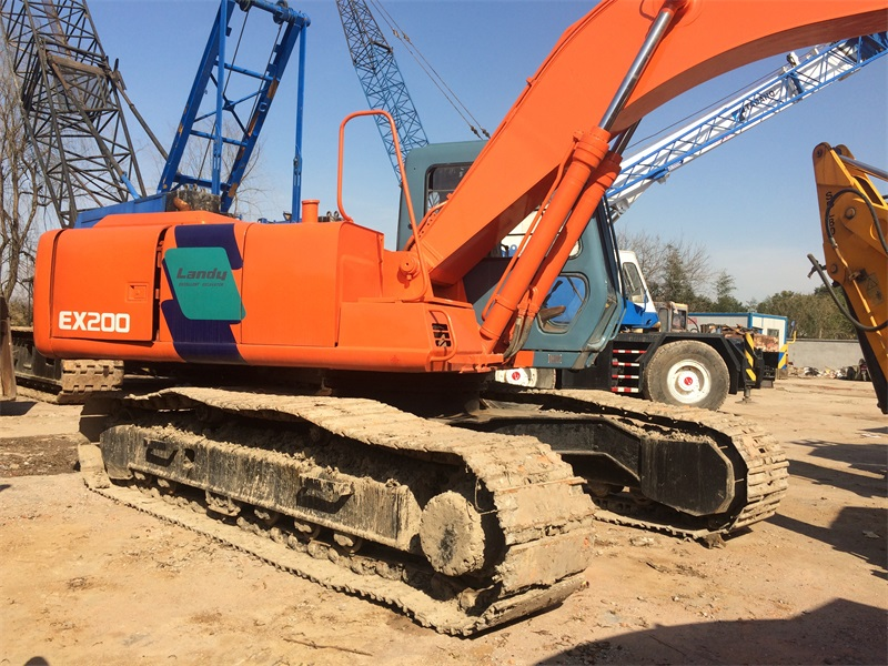 EX200-3 20 Ton Hitachi Origin Hydraulic Pump Cheap Used Excavator Price