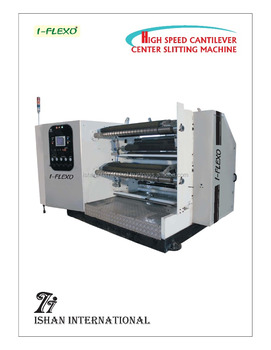 plastic slitter machine