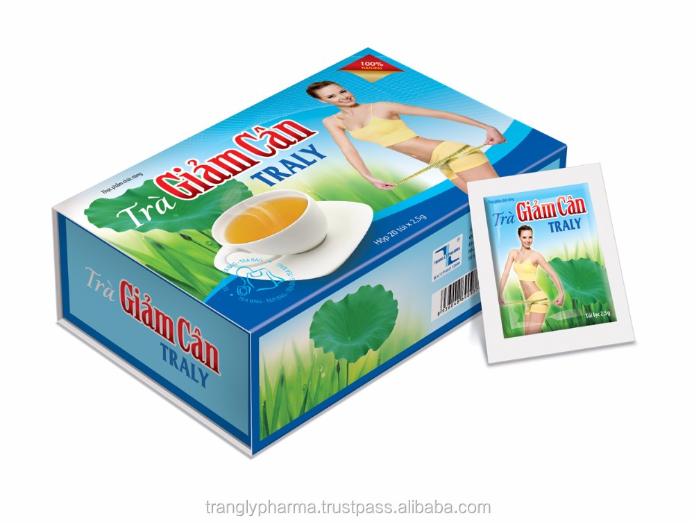 TRALY WEIGHT LOSS TEA - Help lower blood cholesterol and anti-obesity