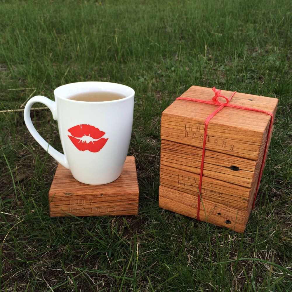 Recycled Timber Coasters