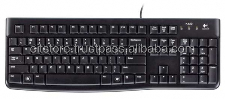 K120 CORDED KEYBOARD USB BLACK