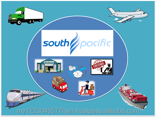 E-commerce platform import export custom clearance air freight express door to door local delivery cross border