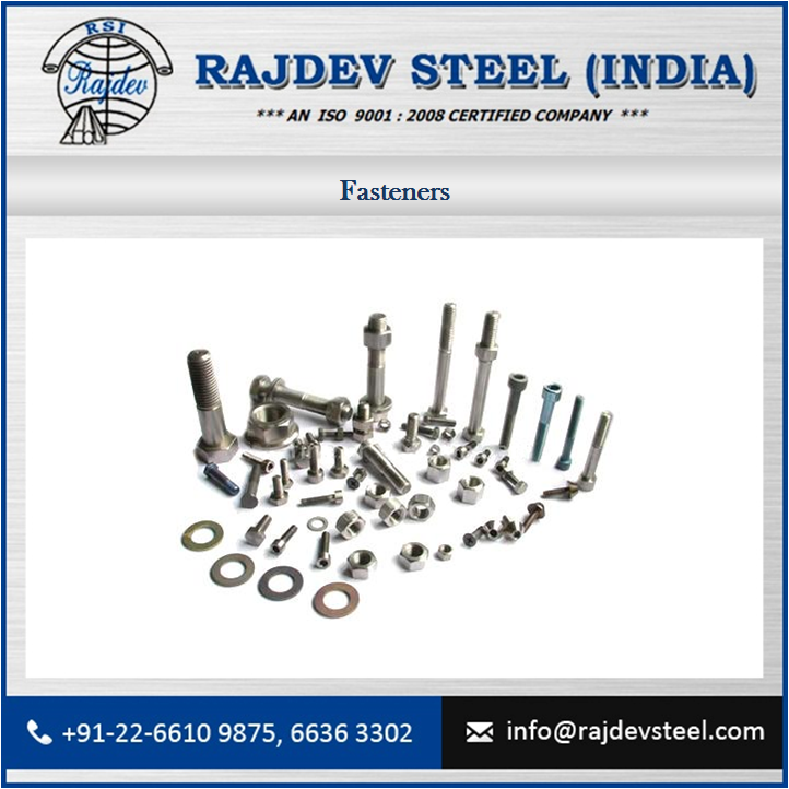 Leading Supplier of Standard Fasteners (Bolts,Nuts,Rods,Washers,Screws Etc.) at Affordable Rate for Sale