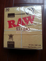 Original Raw King Size Natural Unbleached Rolling Papers
