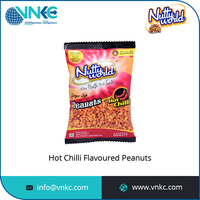 Baked Processing Type Chilli Sauce Coated Flavored Roasted Peanuts Price
