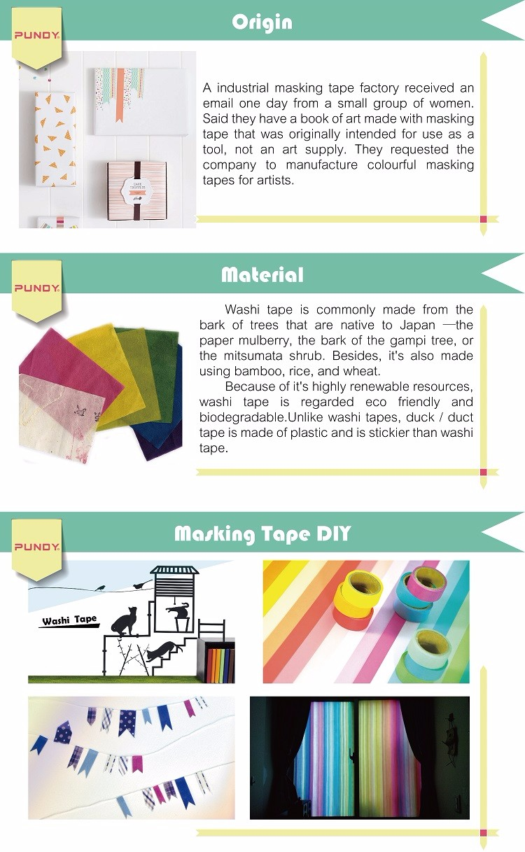 MOQ 55 stationary supplier japan washi paper tape