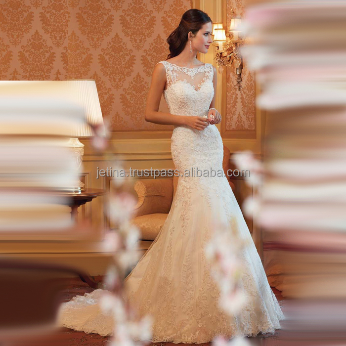 Women's Lovely Ball Gown Wedding Dress