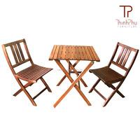 OHIO - BISTRO SET - high quality outdoor furniture - acacia wood