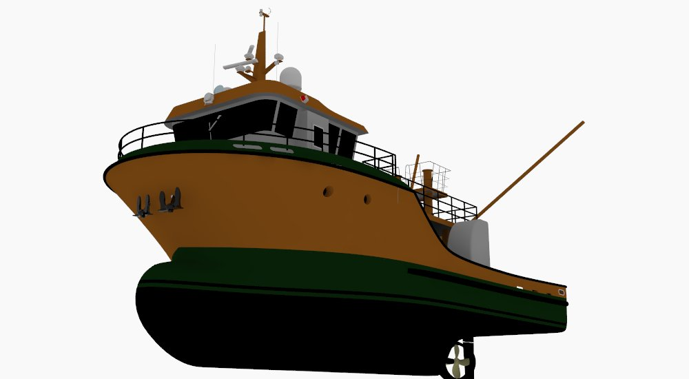 20.4m TRAWLER FISHING VESSEL