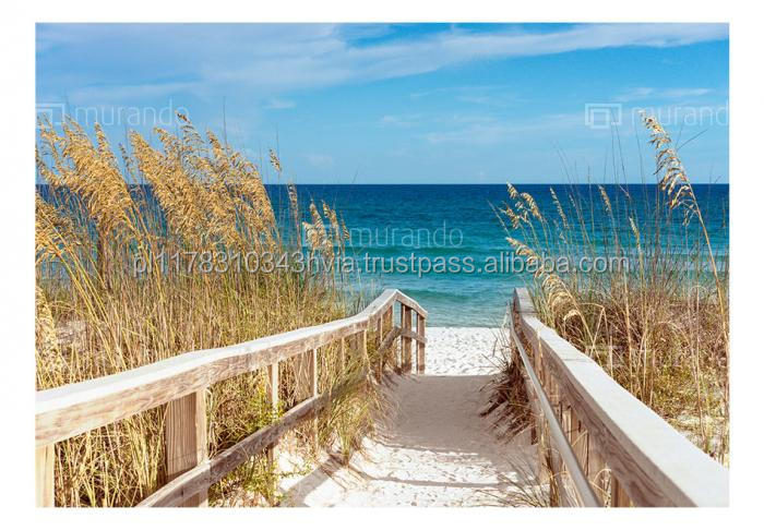 Photo wallpaper c-C-0013-a-a 'Summer at the Seaside' decorative mural size 1x0,7m art prints