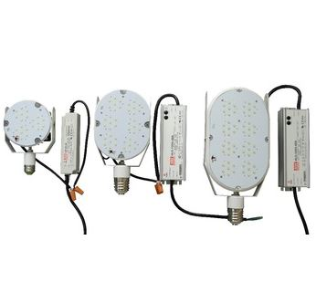 Singapore, 35-450W Mogul base E39/E40 Retrofit LED with USA LED, 100-277V,200-480V 90-110Lm/W UL CUL DLC approved LED Lamp Kits