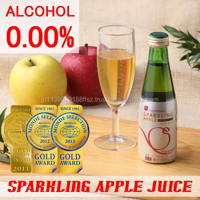 Hot-selling and Easy to use fruit importers sparkling apple juice with multiple functions