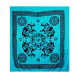 "Tapestry Bohemian""HANDMADE""Hippy India Mandala Gypsy Home Decor Art Wall Hanging With Fringes"