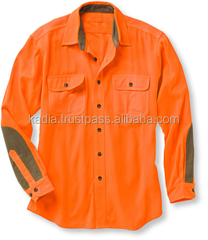 Brunt Orange Dress Shirt