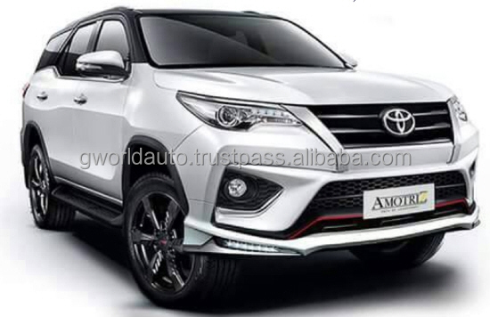 TOYOTA ALL NEW FORTUNER 2016 body kits TRD style