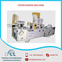 Top Quality High Grade Paper Napkin Machine Available at Best Selling Price