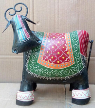 IRON PAINTED COW