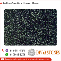 High Luster Hassan Green Granite for Various Interior and Exterior Construction