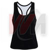 Black Netball Tank & Tops, Custom Sleevless Shirts, Cheap Sleeveless shirts