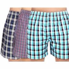 customize wholesale mens boxer shorts plaid