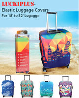 """Luckiplus""- Elastic Luggage Cover(Many Designs)"
