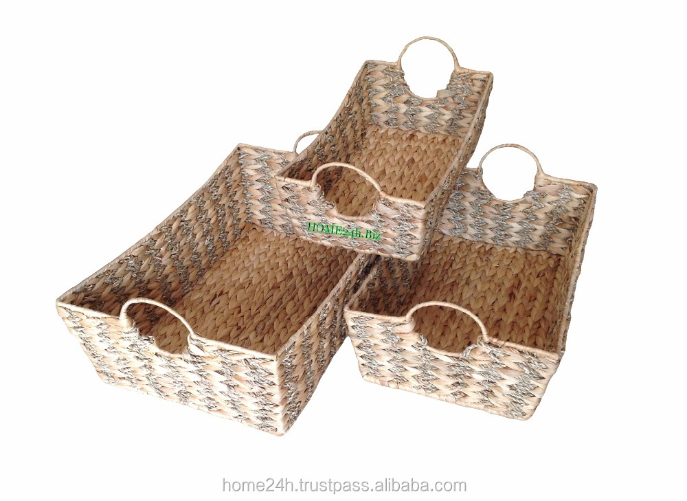 Best selling New product Home & Garden Water Hyacinth Seagrass for gifts handmade baskets
