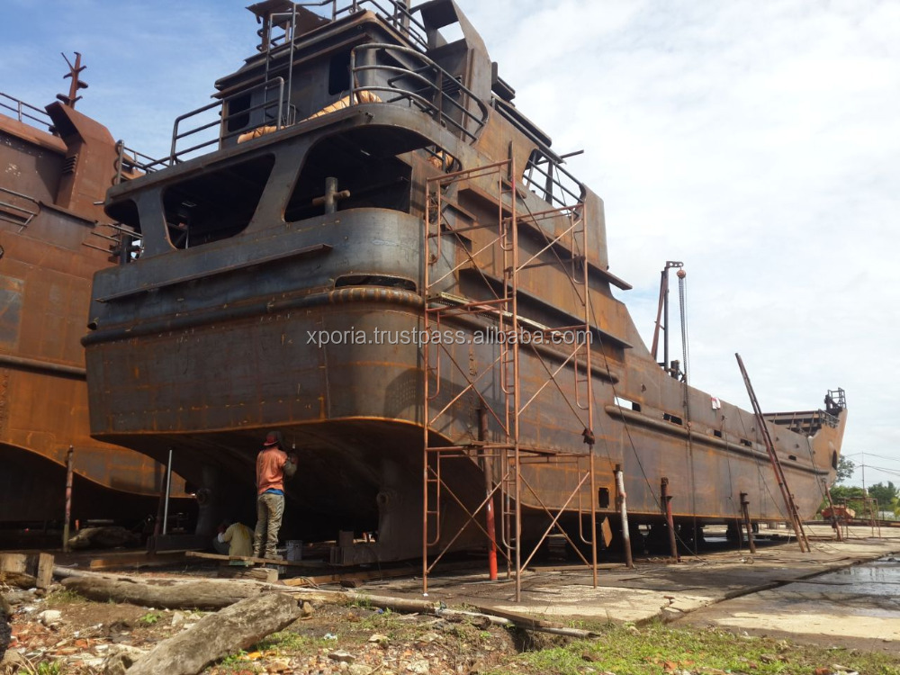 LANDING CRAFT Barge Boat GT 143 BRAND NEW | Indonesia Origin